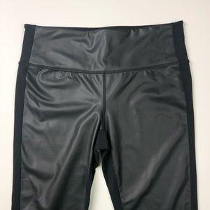 Athleta Pants - Athlete High Rise Gleam Tights Black Chaturanga M